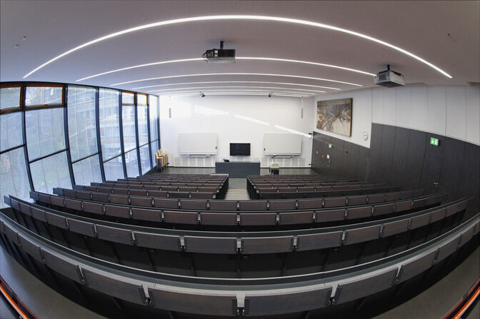 Empty lecture room