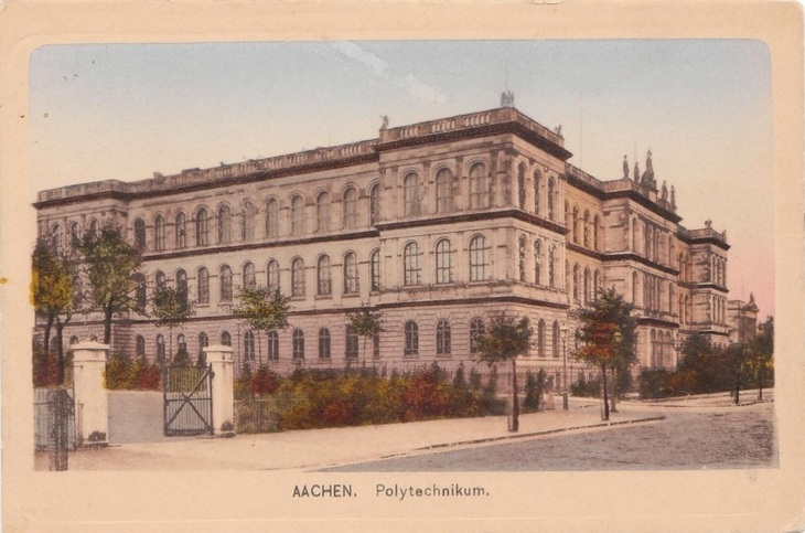 old photo of the Main Building